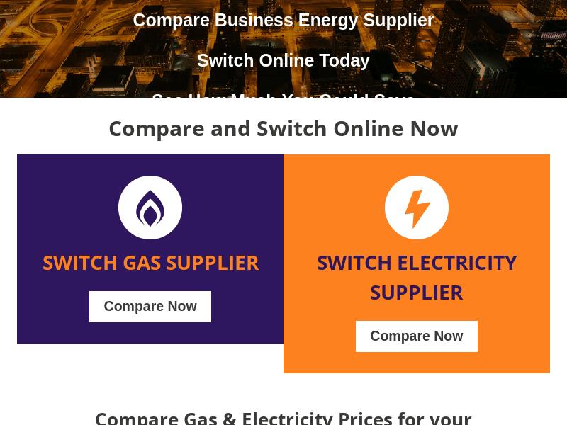utilitiesDirect site web engleza